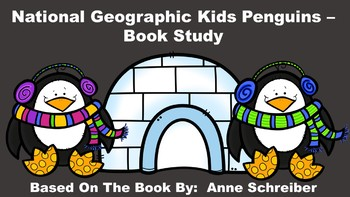 National Geographic Kids Penguins - Book Study