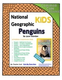 National Geographic Kids Penguins {Nonfiction Comprehension Guide}
