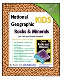 National Geographic Kids Rocks and Minerals {Nonfiction Comprehension Guide}