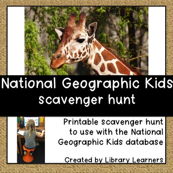 National Geographic Kids Scavenger Hunt
