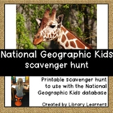 National Geographic Kids Scavenger Hunt