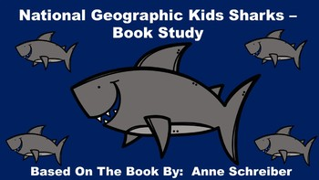 National Geographic Kids Sharks - Book Study