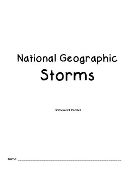 National Geographic Kids Storms