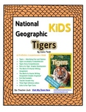 National Geographic Kids Tigers {Nonfiction Comprehension Guide}