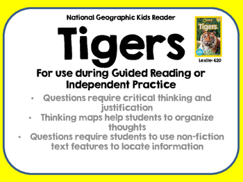 National Geographic Kids Tigers Reader