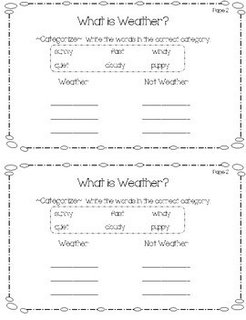 National Geographic Kids Weather Student Flip Book