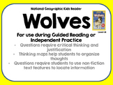 National Geographic Kids Wolves Reader GRL M