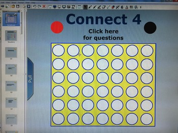 National Geographic Life Science Chapter 2 Connect 4 Review Game