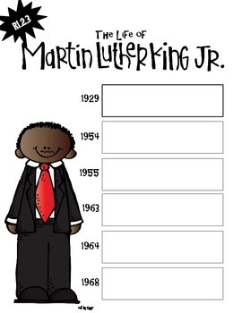 National Geographic Martin Luther King, Jr. Comprehension Packet