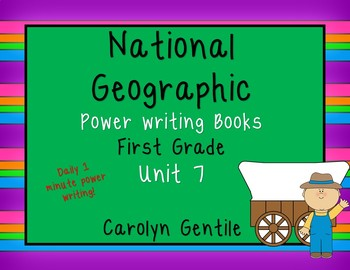 National Geographic Power Writing Unit 7 First Grade Reach for Reading