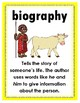 National Geographic Reach for Reading: Grade 3 - Genre Posters (Units 1-8)
