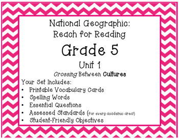 National Geographic Reach for Reading Grade 5 Unit 1 Pack!