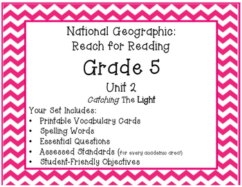 National Geographic Reach for Reading Grade 5 Unit 2 Pack!