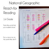 National Geographic Reach for Reading High Frequency Words
