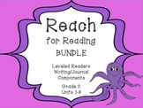 National Geographic Reach for Reading Leveled Readers Writing BUNDLE! Units 1-8