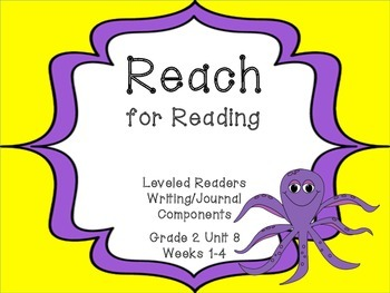 National Geographic Reach for Reading Leveled Readers Writing Unit 8