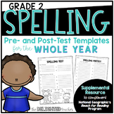 Spelling Templates {for National Geographic Reach for Reading GRADE 2}