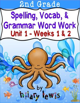 Nat'l Geographic Reach for Reading- Word Work Stations Gr 2-Unit 1-Week 1-2