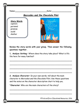 National Geographic Reach for Reading. Unit 1 Week 2 Mercedes and the Chocolate