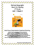National Geographic Reach for Reading. Unit 1 Week 2 Small Group Bundle Package.