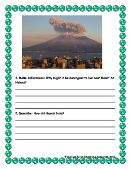 National Geographic Reach for Reading. Unit 7 Week 1 Explorer Pioneer Questions