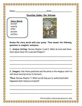 National Geographic Reach for Reading. Unit 7 Week 1 Vacation Under the Volcano