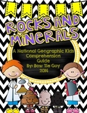 National Geographic Rocks and Minerals Comprehension Activities