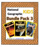 National Geographic Kids Bundle Pack 3  {Volcanoes, Snakes, Bats}