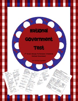 National Government Test & Study Guide