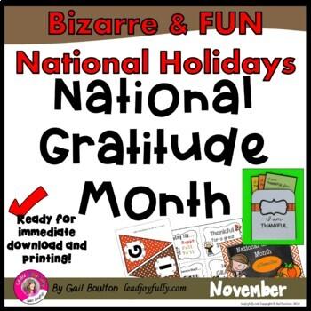 National Gratitude Month (November)