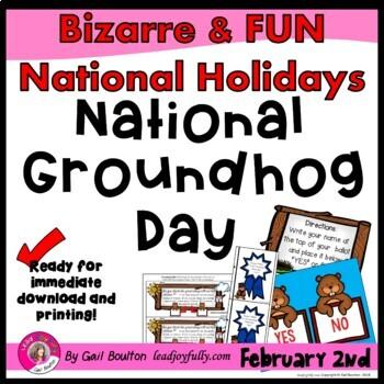 National Groundhog Day (February 2nd)