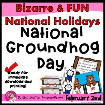National Groundhog Day (February 2nd)