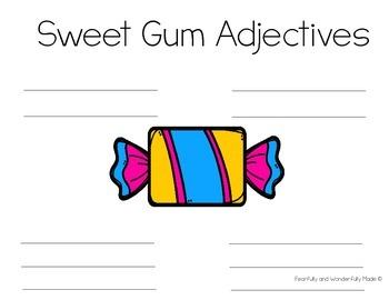 National Gum Adjectives