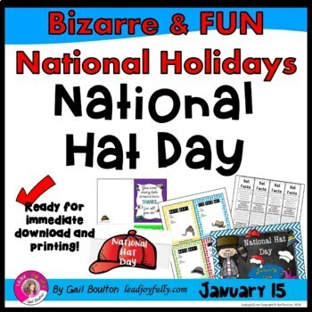 National Hat Day (January 15th)