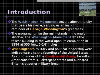 National Historic Landmark - Building the Washington Monument