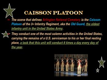 National Memorial - Arlington National Cemetery - The Caisson Platoon