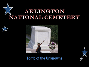 National Memorial - Arlington National Cemetery - Tomb of the Unknowns