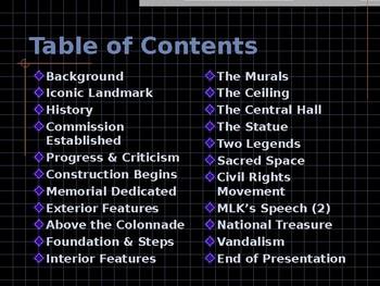 National Historic Landmark - Building the Lincoln Memorial