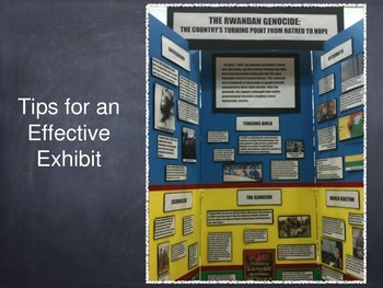 National History Day Exhibit Tips