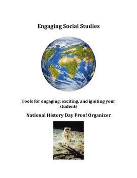 National History Day - Proof Organizer