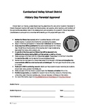 National History Day - Send Home Packet