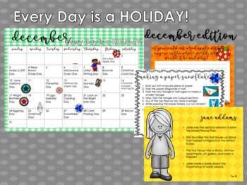 National Holiday Calendar-Every Day is a Holiday!