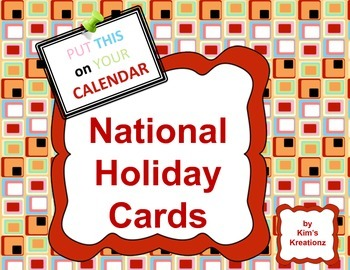National Holiday Cards