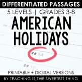 National Holidays: Passages