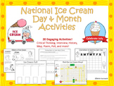 National Ice Cream Day and Month