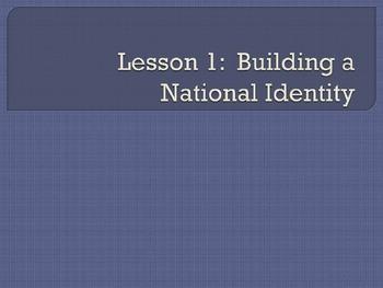 National Identity (Presidents Monroe - Tyler)