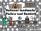 National Landmarks Booklet and Posters TEK (SS) 2.1B