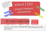 National Latin Exam 3-4 Prose : 18 Self-Grading Answer Forms (2001-18)