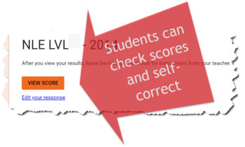 National Latin Exam Level 5-6 : 18 Self-Grading Answer Forms (2001-18)