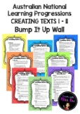National Learning Progressions Creating Texts 1-11 Bump It